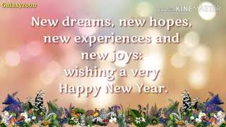 Happy new year advance wise WhatsApp status happy new year,happy new year whatsapp status,happy new