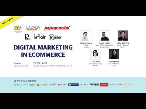 Talkshow DMA   Digital Marketing in E Commerce – Full Show