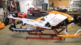 A video of the new 850 summit with linq fuel caddy and bag.
