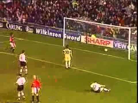 Eric Cantona (Manchester United) - Amazing Goal best goal ever