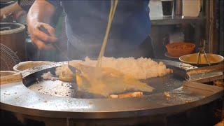 Super Delicious Egg Fried Rice (蛋炒饭)   Taiwan Street Food