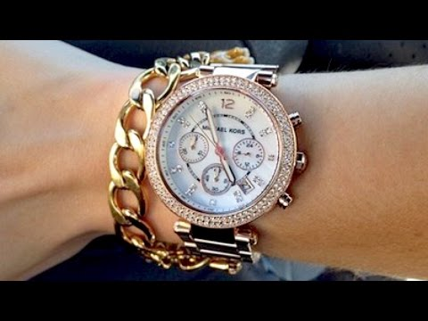 c4fe44ecd496 Michael Kors Women s Parker Rose Gold-Tone Watch MK5865