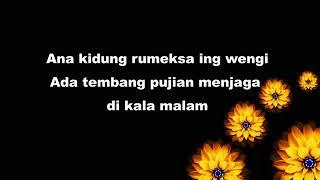 Kidung Rumekso Ing Wengi Karya Sunan Kalijaga Full Lirik