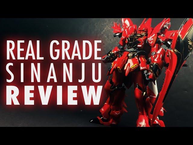 1/144 RG Sinanju (Mobile Suit Gundam Unicorn) | REVIEW