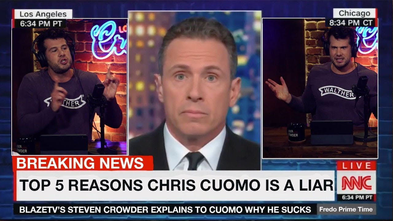 Top 5 Reasons CNN's Chris Cuomo is a LIAR I Louder with Crowder