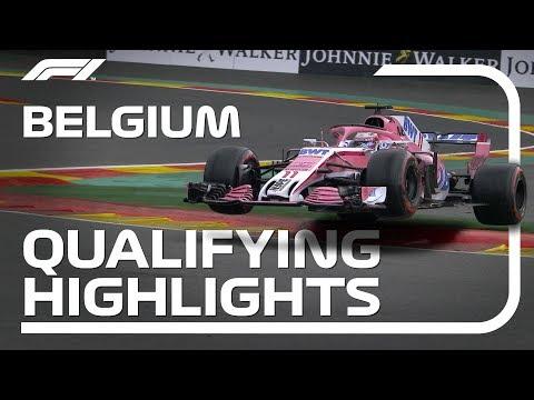 2018 Belgian Grand Prix: Qualifying Highlights