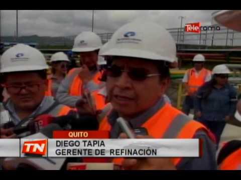 Refinería de Esmeraldas produce 110 mil barriles diarios