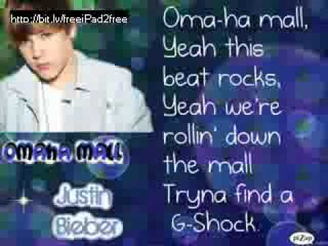 Omaha Mall- Justin Bieber (lyrics)