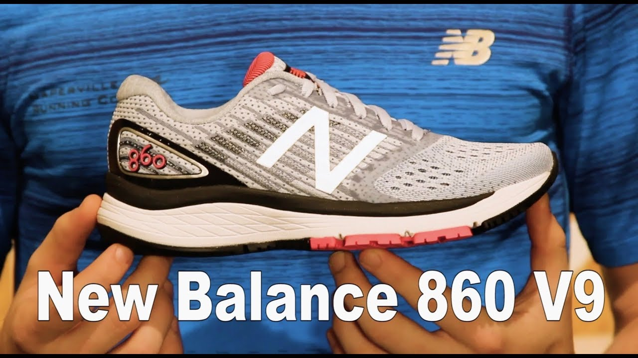 84e9cb4b New Balance 860v9 Shoe Review