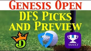 The Putting Green - Genesis Open PGA Fantasy Picks & Preview 2019