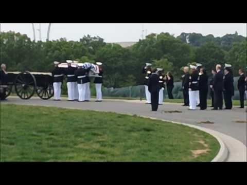 Arlington Cemetery Service for Sgt. Sean T. Callahan