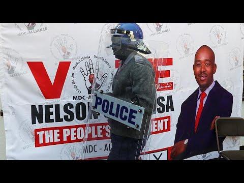 Zimbabwe : Chamisa conteste sa défaite, Mnangagwa joue l'apaisement