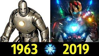 Железный Человек - Эволюция (1963 - 2019) ! История Тони Старка !