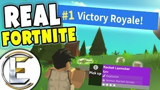 THE REAL FORTNITE IN ROBLOX! - Roblox Island Royale (Fortnite Copy It's Awesome)