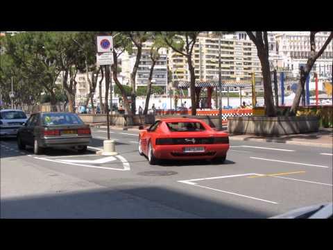 Monaco: Ferrari - California - Testarossa 512 TR - FF, Aston Martin, Lamborghini Aventador