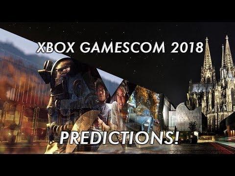 Xbox Gamescom 2018 Predictions!