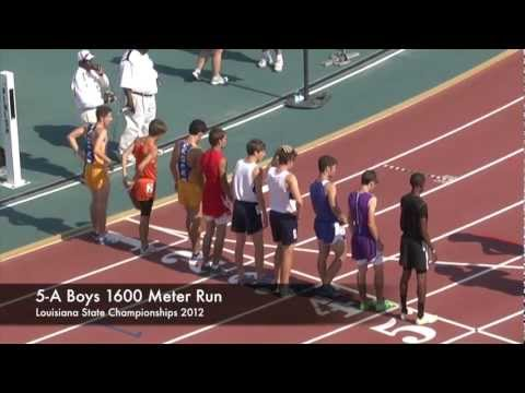 5 A State Boys 1600 Meter Run