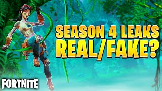 SEASON 4 bereits GELEAKED? ?  Real oder FAKE? | Fortnite Deutsch