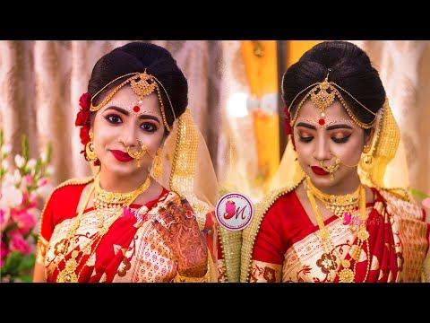 BEST INDIAN BENGALI BRIDAL MAKEUP || STEP-BY-STEP || MAYURI SINHA SARKAR ||