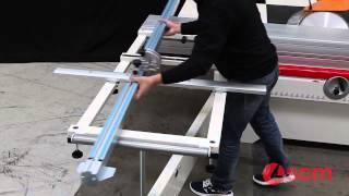 Scm Si400 Nova Sliding Table Panel Saw