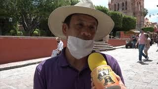 Sanmiguelenses extrañan las festividades de septiembre