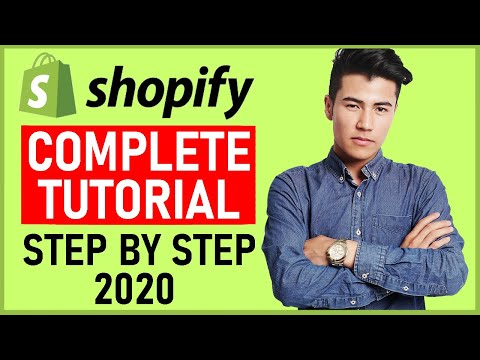 A-Z FREE Shopify Dropshipping Tutorial For Beginners 2020 | How To Create A Profitable Store