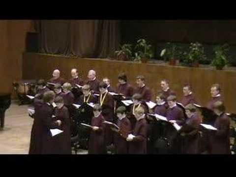 Tebe Poem - St Edmundsbury Cathedral choir