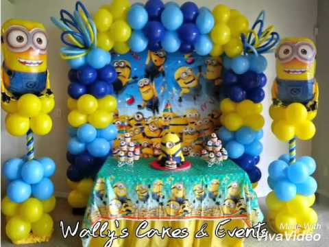 Minions Birthday Theme Party