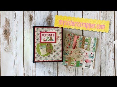 Doodlebug Milk and Cookies Mini Album
