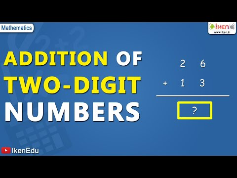 Mathematics: Addition of 2 digits - YouTube