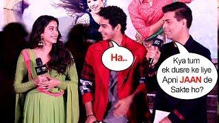 Sridevi's Daughter Jhanvi & Boyfriend Ishaan's On How Much They LOVE For Each Other @Dhadak Trailer