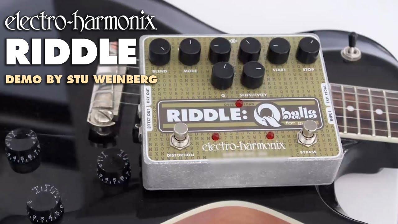 Electro-Harmonix Riddle Q Balls Envelope Filter Pedal
