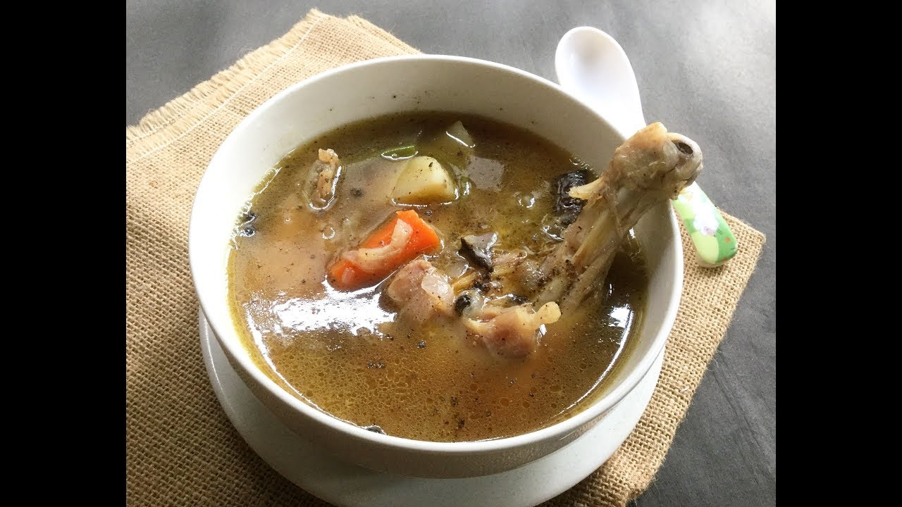 Chicken broth meaning in bengali