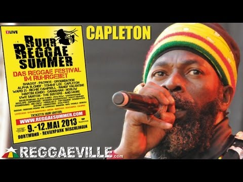 Capleton - Jah Jah City @ Ruhr Reggae Summer in Dortmund