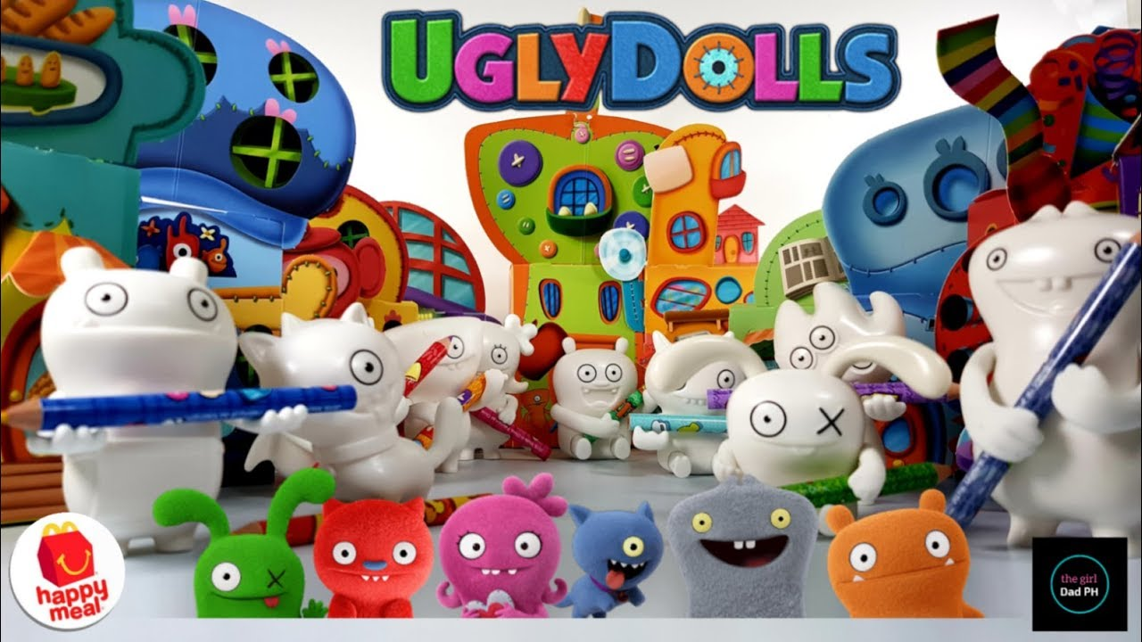 Mcdonalds Ugly Dolls The Movie Happy Meal May 2019