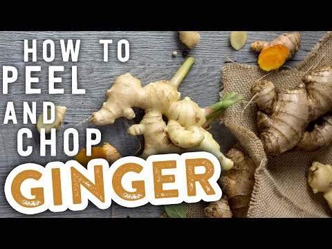 How to Peel and Chop Ginger   MyRecipes
