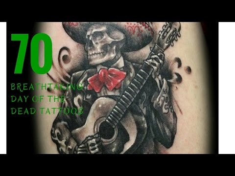70 BoneTingling Day of the Dead Tattoos