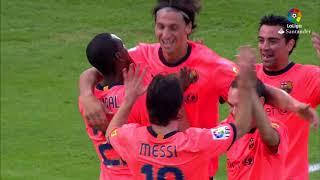 Resumen de Getafe CF vs FC Barcelona (0-2) 2009/2010