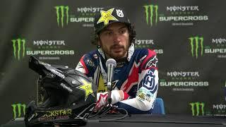 450SX Post Race Press Conference - St. ...