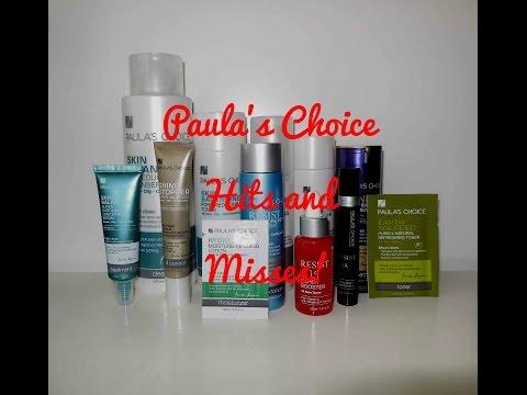 Paula's Choice Skincare Hits and Misses!
