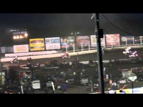 6/28/15 Husets Speedway 410 Sprint Car Feature