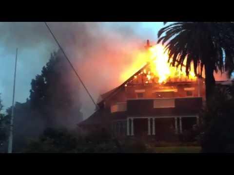 Ivanhoe RSL fire