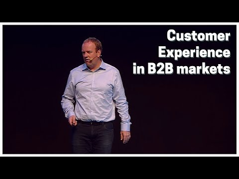 Customer Experience in B2B markets: how B2B companies get ready for the day after tomorrow