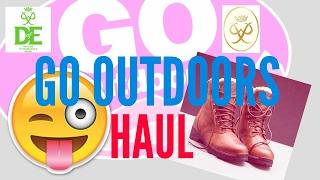 GO OUTDOORS HAUL |Brandon| | Brandon