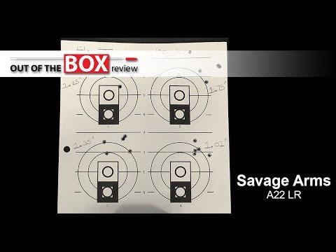 Savage A22 Long Rifle Match Review