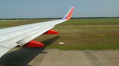 Southwest Airlines 737-7H4 Takeoff from Jacksonville