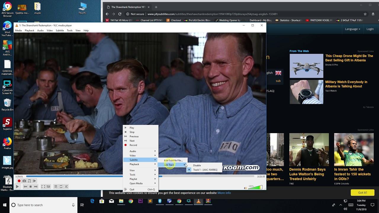 IPTV Adding Subtitles on VLC