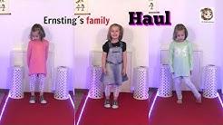 HAUL und MODENSCHAU ♡ Kinderkleidung von Ernsting's family ♡ Kinder Mode