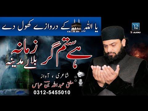 Heart Touching Naat | Hai Sitam Gar Zamana | Bula Lo Madina | Mufti Abdullah Bin Abbas | YS Pro