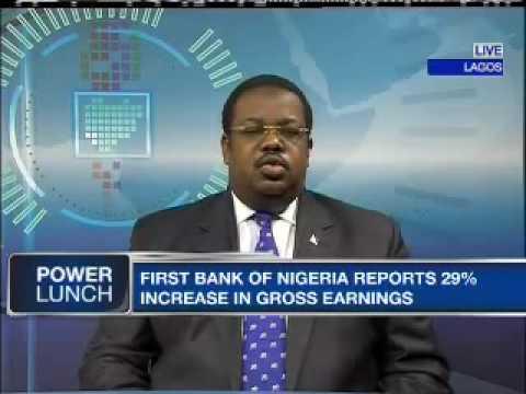 BC Onasanya - GMD, First Bank of Nigeria
